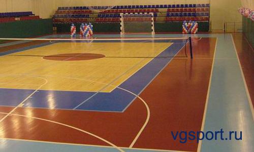 Комплексные поставки спортивного оборудования для универсальных спортивных залов